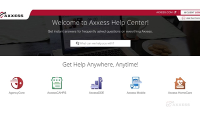 A screenshot of the Help Center.