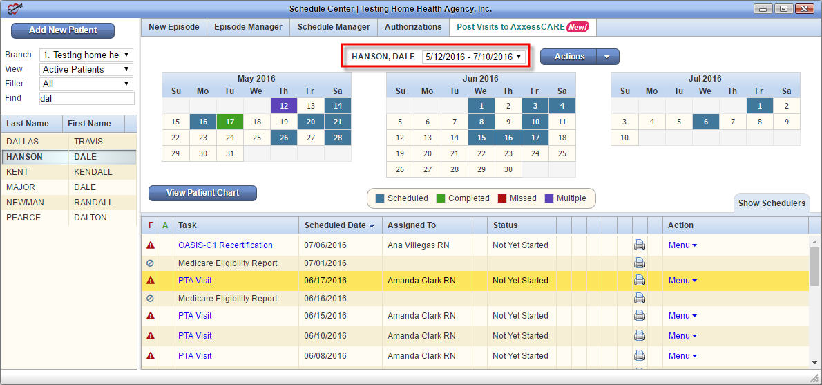 Episode Calendar.Schedule Center Overview Help Center