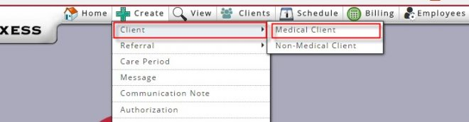 Create Medical Client