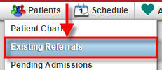 Existing Referrals