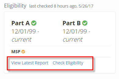 Eligibility Results