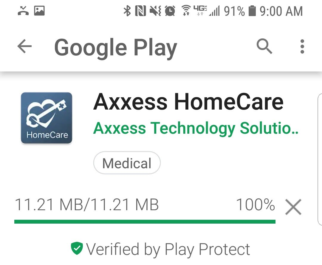 HomeCare Android Overview – Help Center