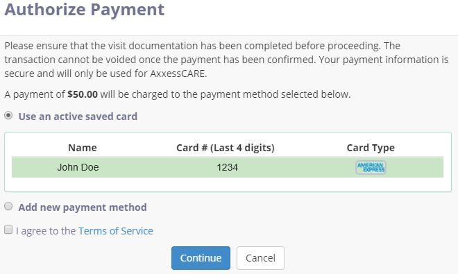 Authorize Payment Button – Help Center